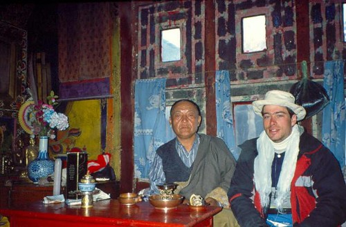 King Jigme Palbar Bista & Rick Green