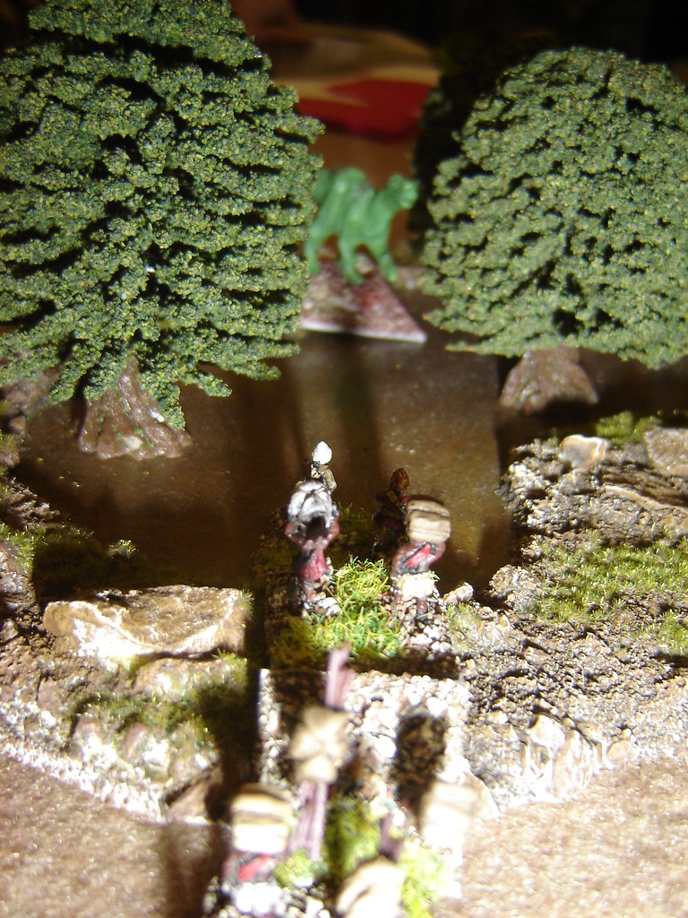 Other British column marches through forest