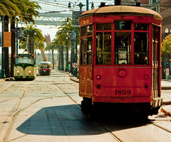 Smiling Innovations (Stuart M Dixon) Tags: tracks embarcadero cablecar lightrail classiccars 1859 fmarket threecars