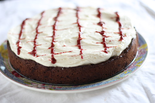 Cherry Fudge Brownie Torte - Tuesdays with Dorie