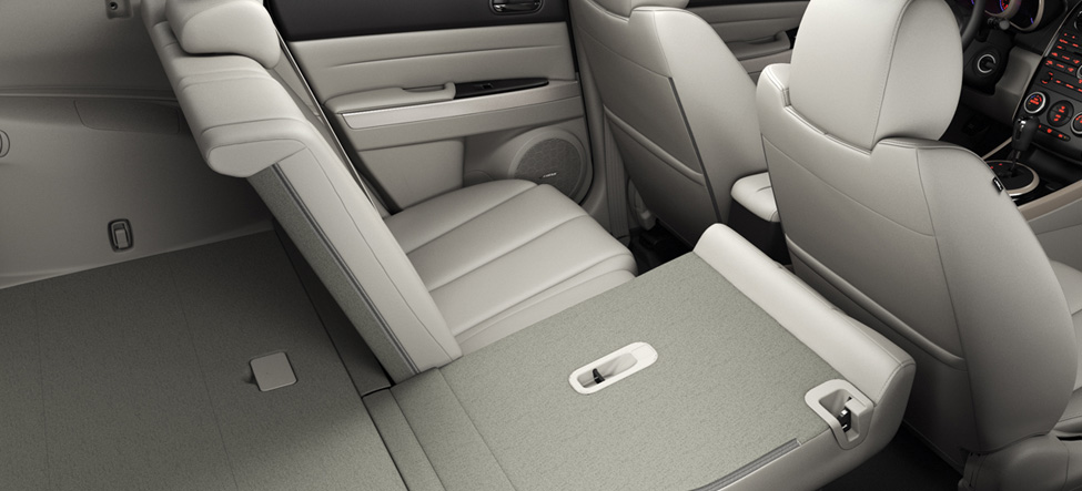 fold-down rear seatback Mazda CX-7