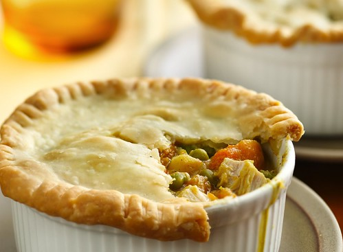 Recipe: Turkey Sweet Potato Pot Pies
