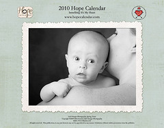 Inside cover, Hope Calendar sneak peeks