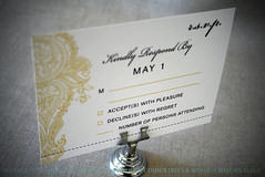Henna Paisley Wedding RSVP (monicagarrett) Tags: henna paisley mehndi indianweddinginvitations hennaweddinginvitation paisleyweddinginvitation yellowinvitations greyinvitations