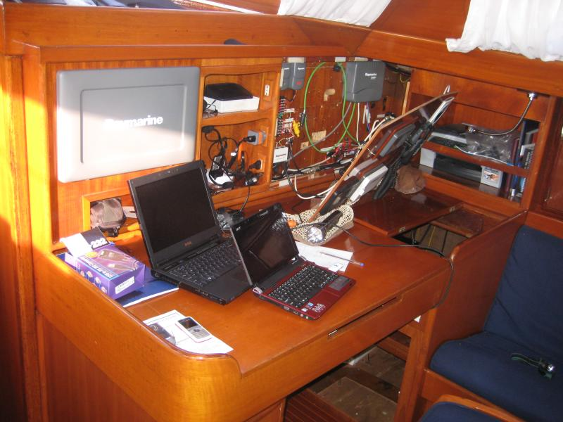 Wild Tigris - Anne dismantles the nav station