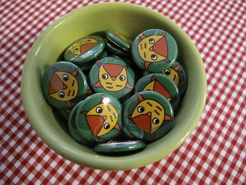 Owlie Buttons.