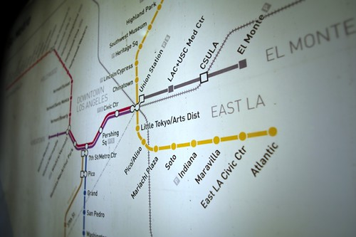 The Metro system map, now with eight more dots. Photo: Fred Camino