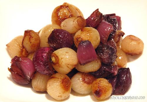 Glazed Onions & Shallots