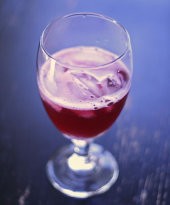 Simple Pomegranate Spritzer Recipe