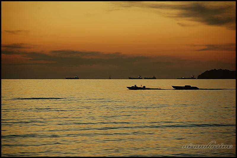 Port Dickson at Dusk