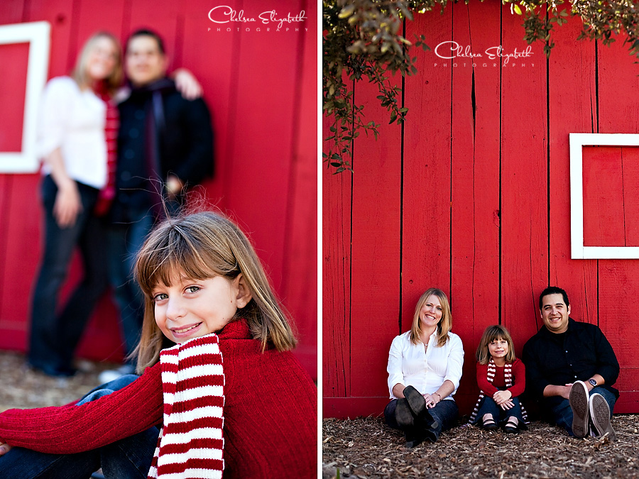 christmas portrait camarillo ranch house image