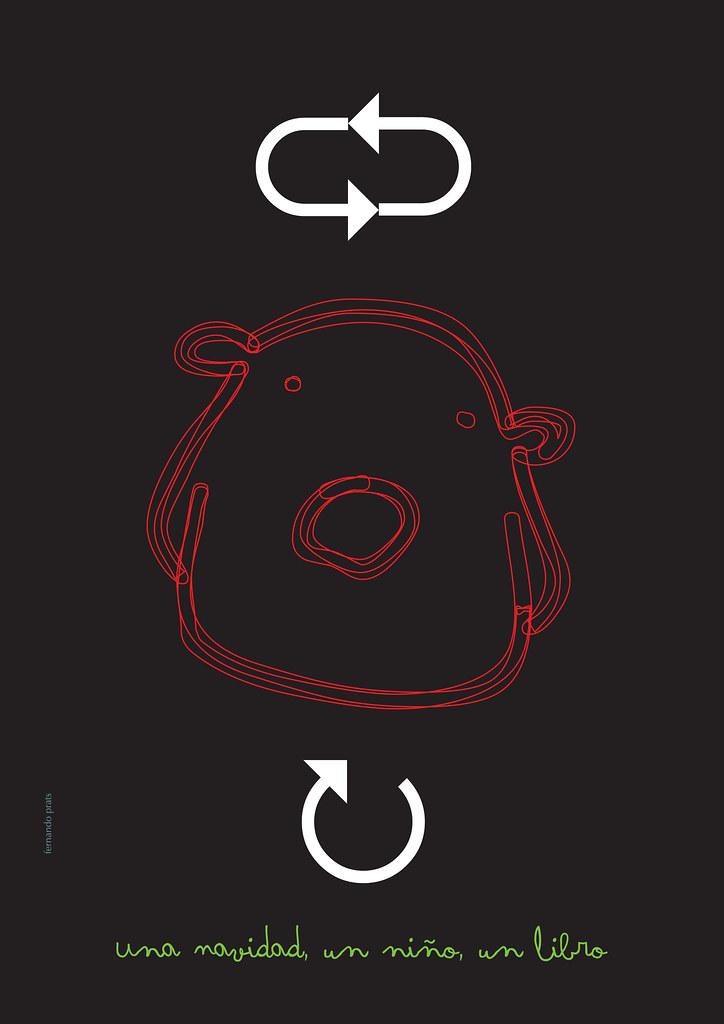 1 navidad, 1 niño, 1 libro: ilustración de Fernando Prats para el libro de Escritores Solidarios
