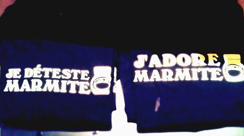 Je Déteste, J'adore Marmite