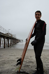 Damian (MickiTakesPictures) Tags: pier newjersey nikon surf wave surfing ventnor surfboard southjersey damian