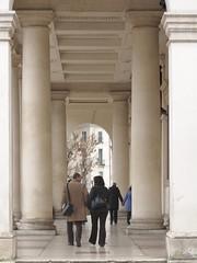 Sotto Palazzo Chiericati. Vicenza (sangiopanza2000) Tags: italy italia architettura achitecture vicenza palladio veneto sangiopanza museocivico architetturapalladiana palazzochiericati