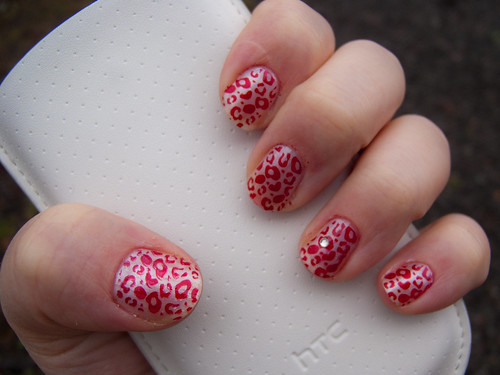Nail Painting Celebrity Surfing Leopard Nail Art Design Nail Polish