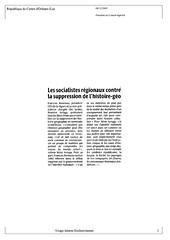 Republique du Centre-Histoire- 8/12/09