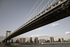 Brooklyn Bridge, NY (-Passenger-) Tags: bridge brooklyn promenade