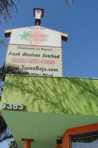 fish taco facade