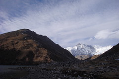 Gokyo Ri (5357m) and Cho Oyu (8201m)