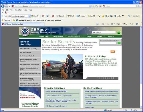U.S. Department of Homeland Stupidity