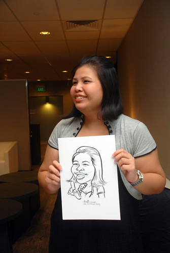 Caricature live sketching for Lonza - 4