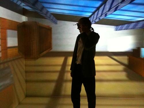 """Réalité Virtuelle immersive, dans la """"cave"""" du LIMSI"""