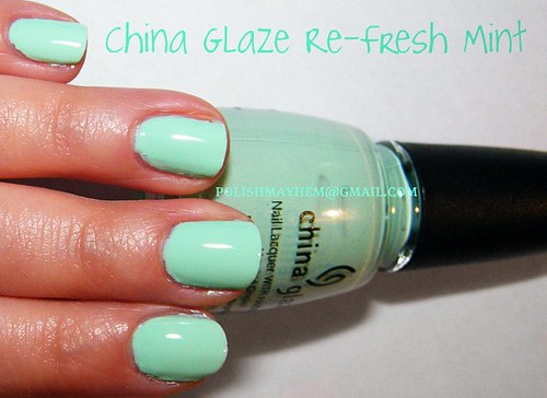 China Glaze Re-Fresh Mint