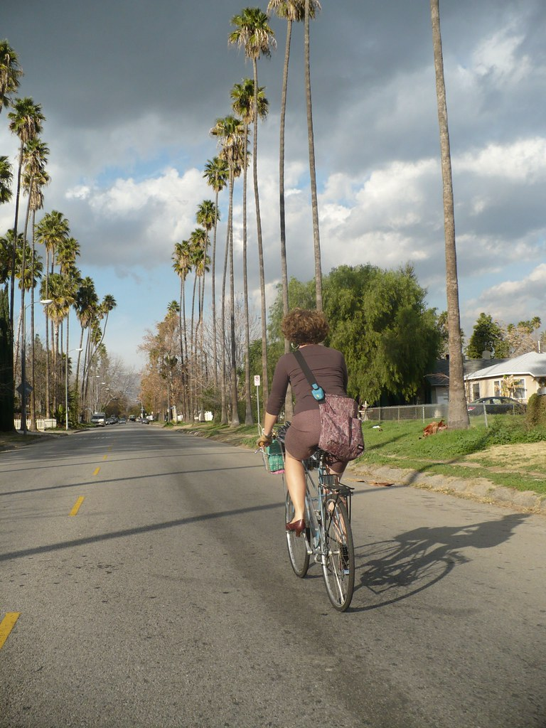 You Can't Ride A Bike In Los Angeles