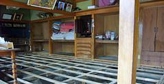 石巻再訪:床下は消毒済み