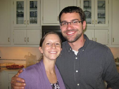 Julie Coutu and Ian Robinson