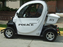 GEM Police Vehicle (lee.ekstrom) Tags: electric pod traffic michigan police ev vehicle department gem birminghampolice electricpolice