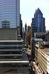 Looking West down 59th Street, Manhattan (DitMartian) Tags: nyc newyorkcity newyork manhattan eastside bloombergbuilding midtowneast julienaleksandres decorativeartsdistrict