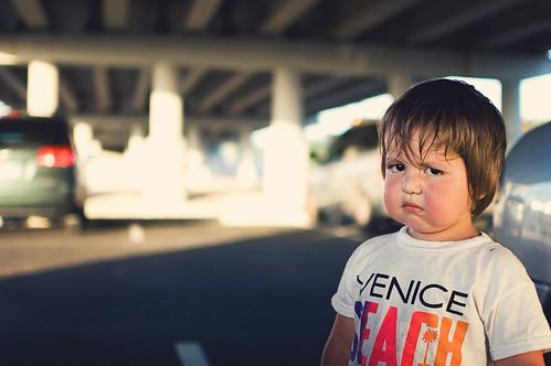 post-park face