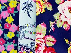 Lucky Girl (clair101) Tags: blue modern pretty fresh fabric fabrics freespirit luckygirl patchworkfabric jenniferpaganelli fabricbundles