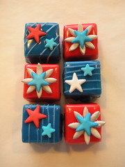 4th of July Petit Fours