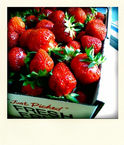 The end of strawberry season