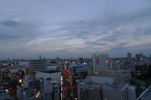 twilight in shinjuku