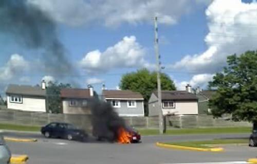 171b:365 Lookit that, my van is on fire.