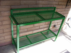 potting table, front view (super doo) Tags: gardening welding gardenfurniture pottingtable plantingtable