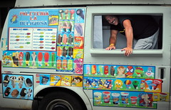 Ice Cream Truck Man (Stranger #21) (mgm photography.) Tags: man truck stranger sonic spanish i