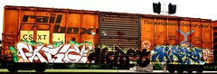 fatige/dkret/msery (mightyquinninwky) Tags: railroad logo geotagged graffiti moving crossing kentucky tag railway motto tags tagged spraypaint boxcar graff graphiti rolling railroadcrossing inmotion trainart mfk westernkentucky freezin paintedtrain rbox railart railbox spraypaintart stk csxt ohiorivervalley traq paintedsteel hendersonkentucky nextloadanyroad msery hendersoncountykentucky taggedboxcar paintedboxcar thenationwideboxcarpool fatige railroadtrafficsignal paintedrailcar taggedrailcar dkret 4chelso fthecold musthavebeencoldnight geo:lat=37806169 geo:lon=87576034
