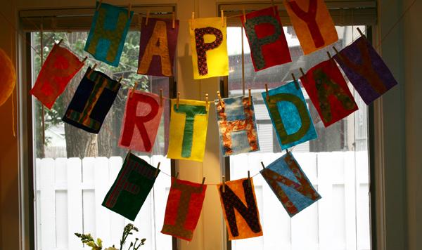 Finn's Birthday Banner