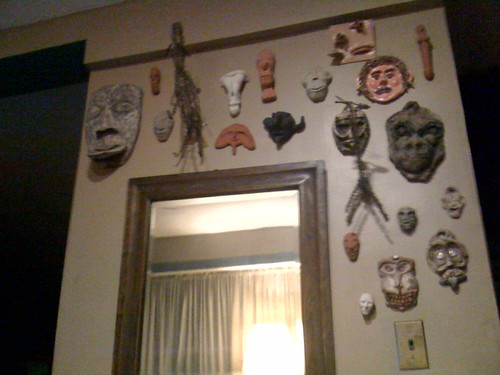 Wall Art Masks and Sculptures