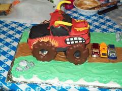 El Toro Loco Cake (HeaRae) Tags: monster cake truck loco el birthdaycake doughnuts toro monstertruck eltorroloco monstertruckcake eltorolococake