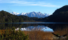 Laguna el Trbol / Bariloche (Facu551) Tags: patagonia naturaleza nature argentina rio reflex negro el explore cerro reflejo sur chico laguna calma bariloche circuito trbol trebol millaqueo