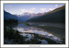 Parkway Morning (maclobster (away)) Tags: river rockies canadian parkway icefield sunwapta keithgrajala