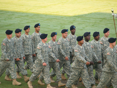 Scott's Fort Benning Army Graduation
