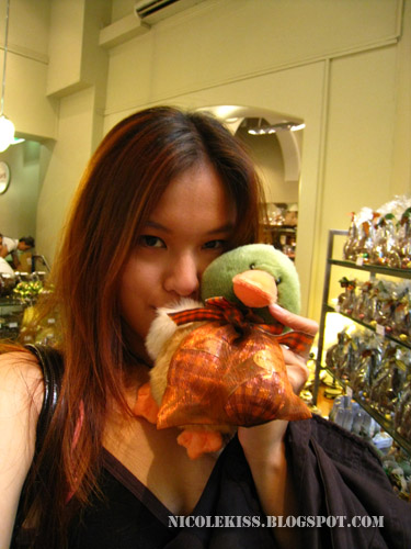 me and green ducky