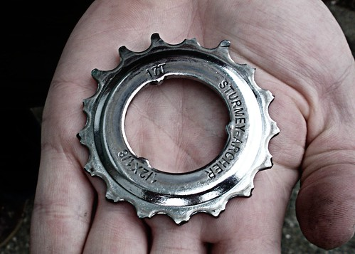 A Very Broken Bike Sprocket